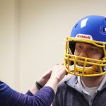 athletico football helmet fitting