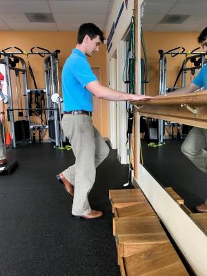 golf off season training single leg stances