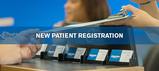 new physical therapy patient registration