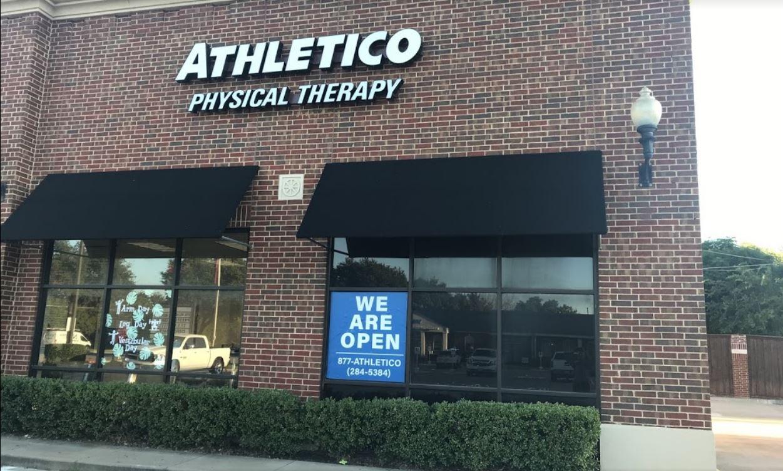 athletico physical therapy dallas preston
