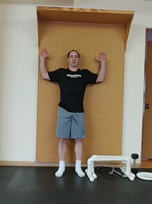 Shoulder Strengthening Exercises for Male Gymnasts