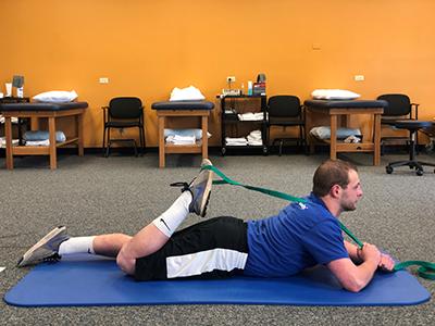 Quadriceps Back Stretch