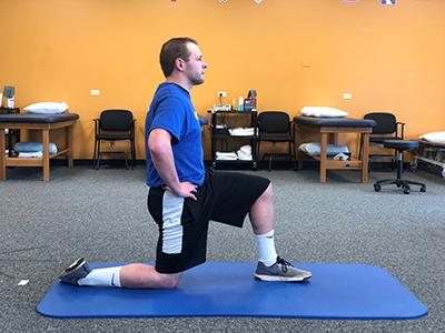 Hip Flexor Back Stretch