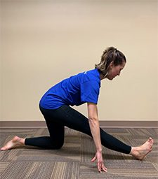Stretch Rx for Achieving the Splits