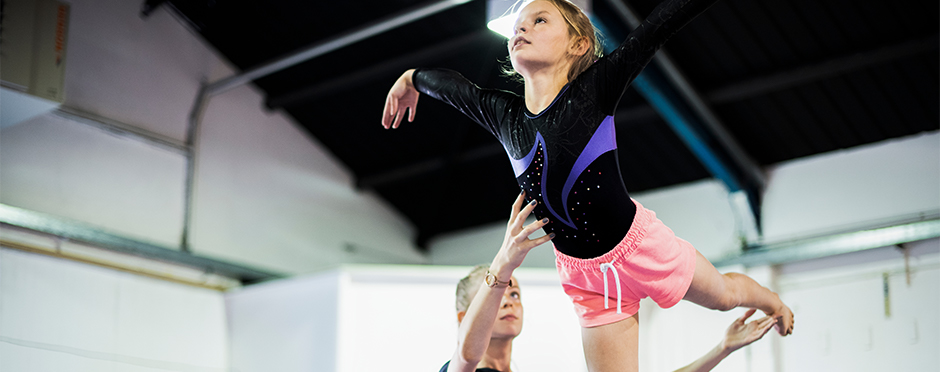 Spotting Safety During Tumbling