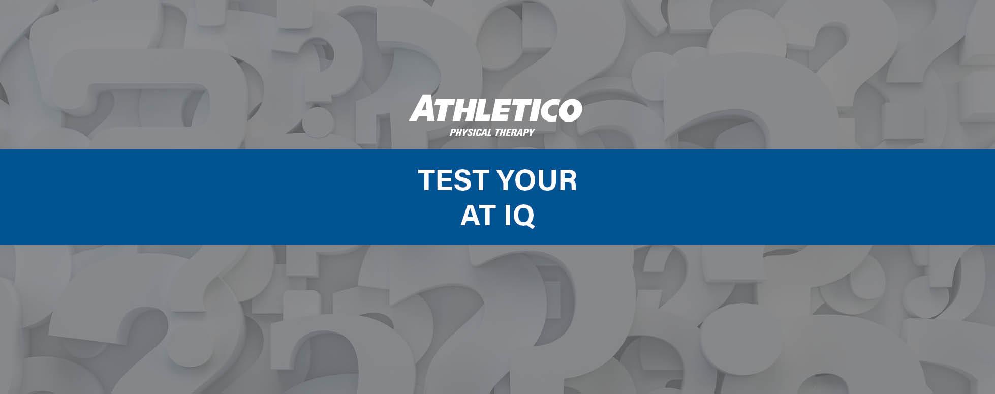 National Athletic Training Month quiz 2