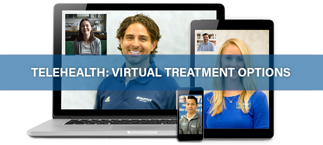 telehealth virtual physical therapy treatment options