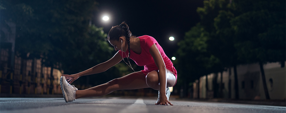 safety tips for running in the dark