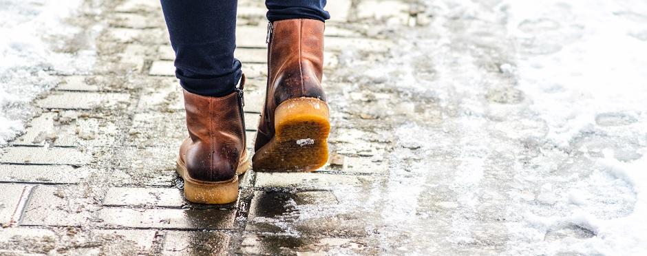 prevent slip and falls